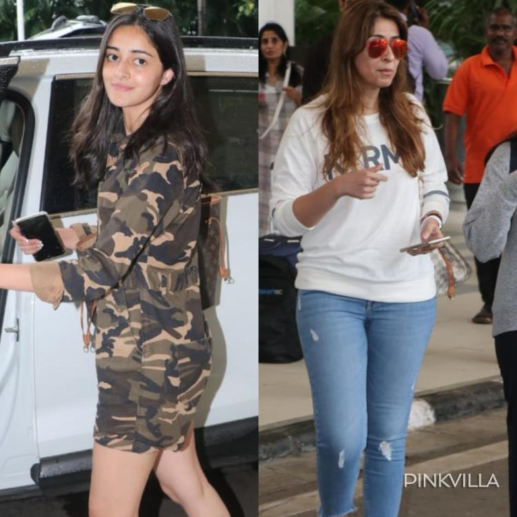PHOTOS: Ananya Panday & Bhavna Panday make a lovely mother daughter duo as they get papped at the airport