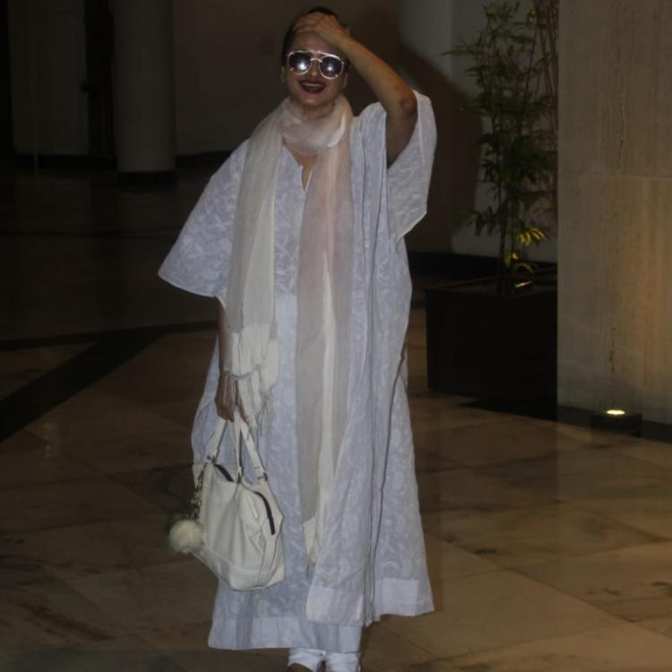 PHOTOS: Evergreen Rekha lessons style and gives us a new trend to catch from her fashion rulebook