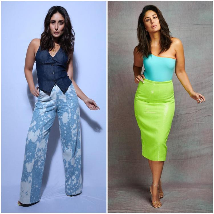 Kareena Kapoor Khan effortlessly goes from blues to neons with her outfits; Which do you prefer?