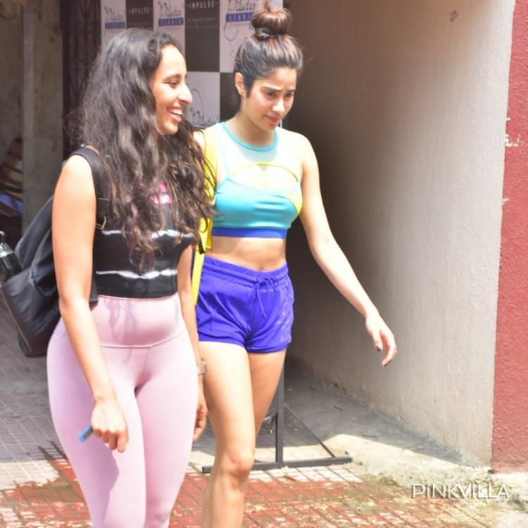 Janhvi Kapoor finds a NEW BFF to accompany her for Pilates classes; check out the pics