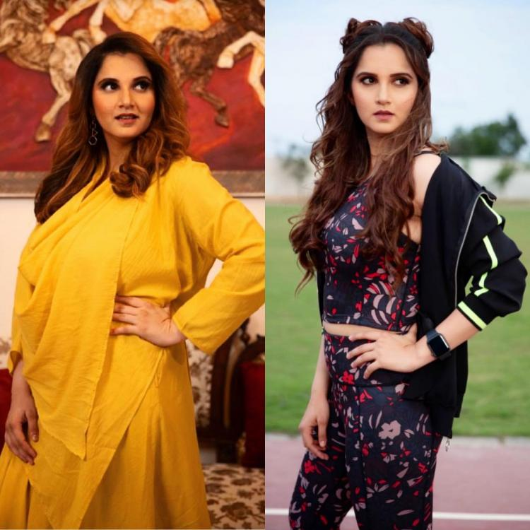 From 89 kgs to 63 kgs, Sania Mirza shares her THEN and NOW weight loss transformation photos