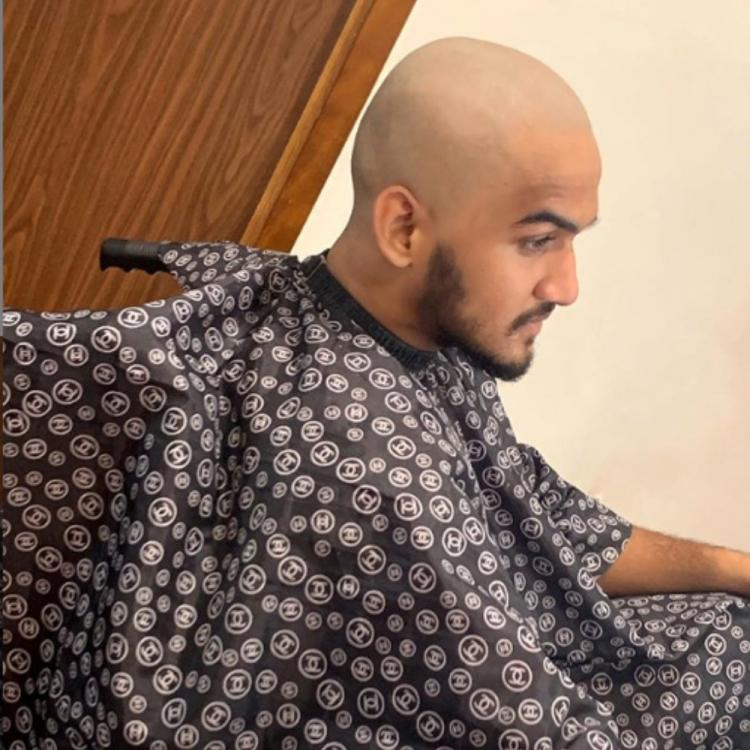 Faisal Khan goes bald post his injury, shares an inspiring post; check it out