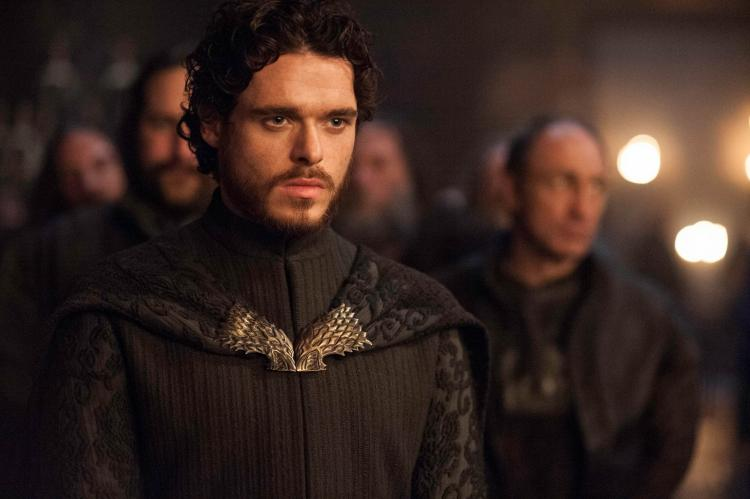 In Game of Thrones, Richard Madden played Robb Stark aka the King in the North from season 1 to season 3.
