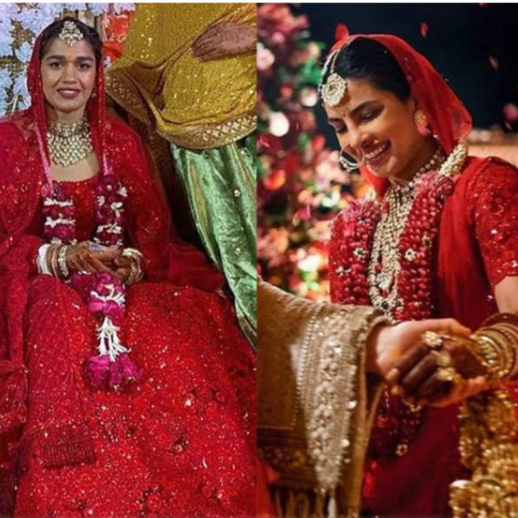 Nach Baliye 9 fame Babita Phogat ties the knot in Priyanka Chopra style; Dolls up in similar bridal attire