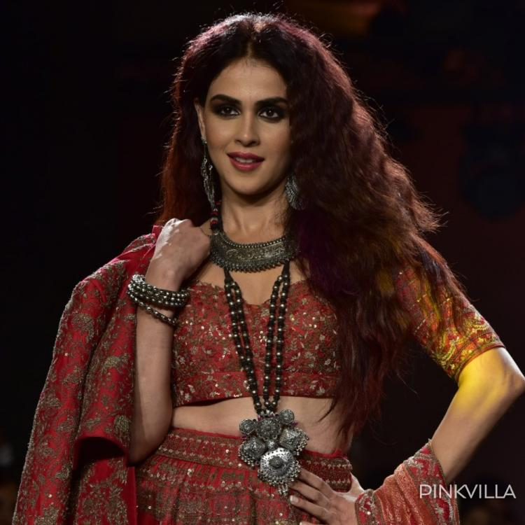 PHOTOS: Genelia D'souza sets the ramp ablaze at the final day of Lakme Fashion Week
