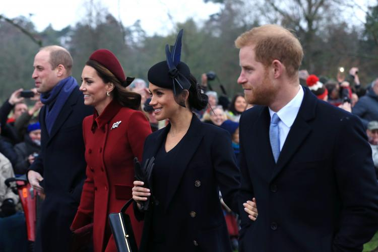 Meghan Markle and Prince Harry,Kate Middleton and Prince William,Hollywood