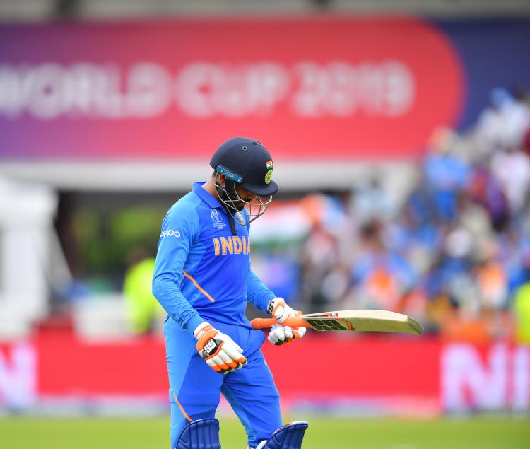 ICC World Cup 2019 : Men in blue stranded in Manchester and are set to be mere spectators till Sunday