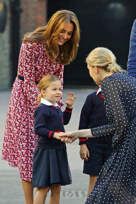 Princess Charlotte,Kate Middleton and Prince William,Hollywood