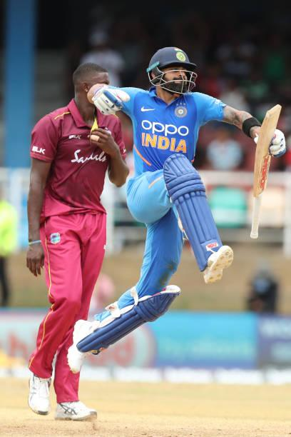 India vs West Indies 2nd ODI live score: Virat Kohli gets his 42nd ODI hundred; Twitter reacts