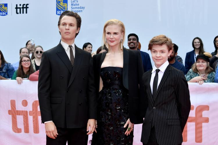 Nicole kidman,Ansel Elgort,Hollywood