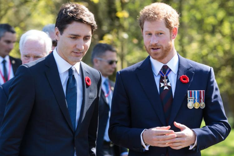Justin Trudeau,Meghan Markle and Prince Harry,Hollywood