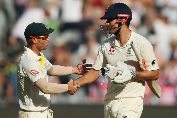 Alastair Cook claims David Warner tampered ball in a first-class match