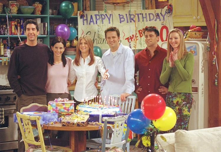 FRIENDS: Monica, Rachel, Phoebe, Joey, Chandler, Ross: The Friends character you are based on your Zodiac sign