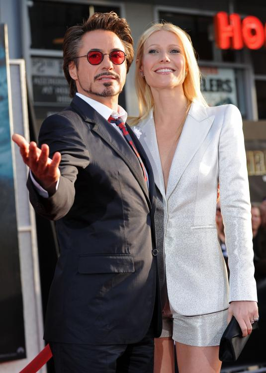 Robert Downey Jr wishes Avengers: Endgame co star Gwyneth Paltrow with the perfect Iron Man gif; Check it out