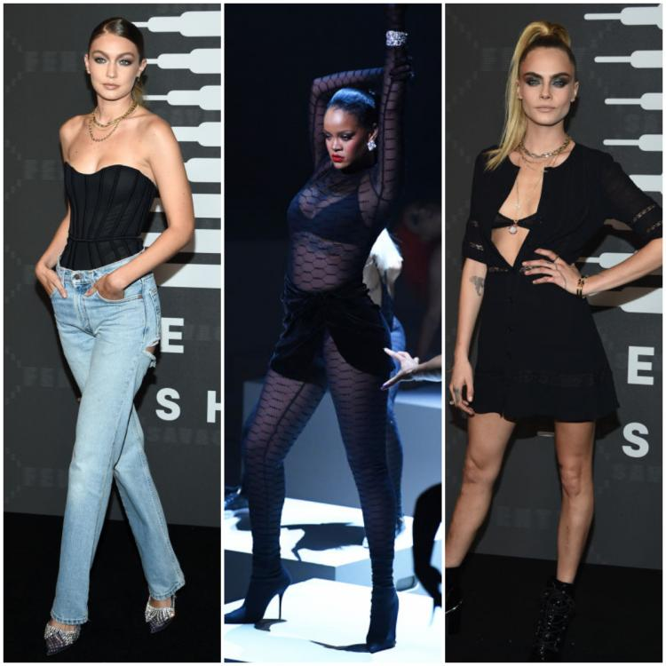 Gigi Hadid, Cara Delevingne and more supported Rihanna's Savage X Fenty show at NYFW 2019