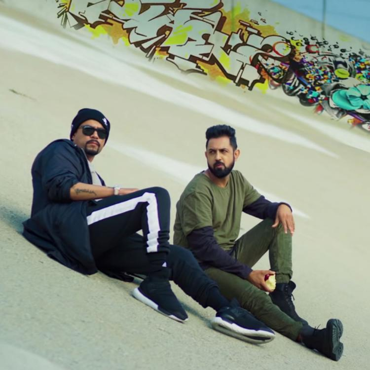 Gippy Grewal announces his new collaboration with Punjabi rap star Bohemia; Watch