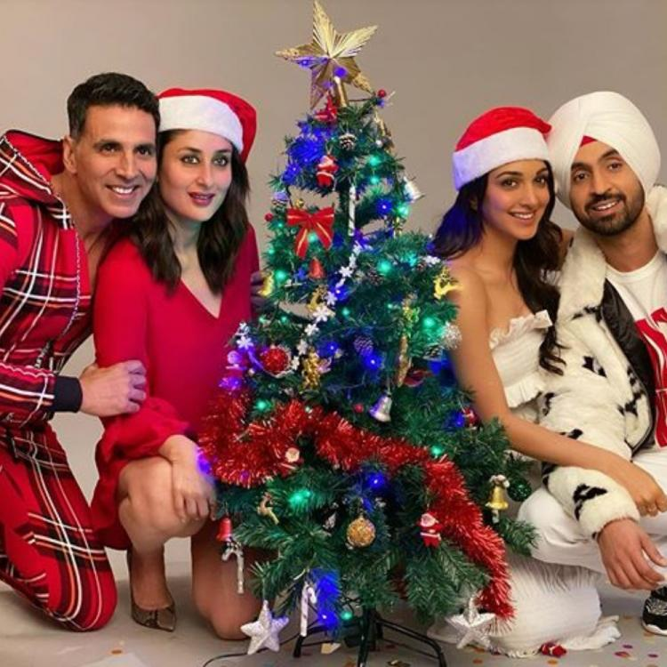 Good Newwz: Kareena Kapoor Khan, Akshay Kumar, Diljit Dosanjh, Kiara Advani are all set for Christmas; See Pic