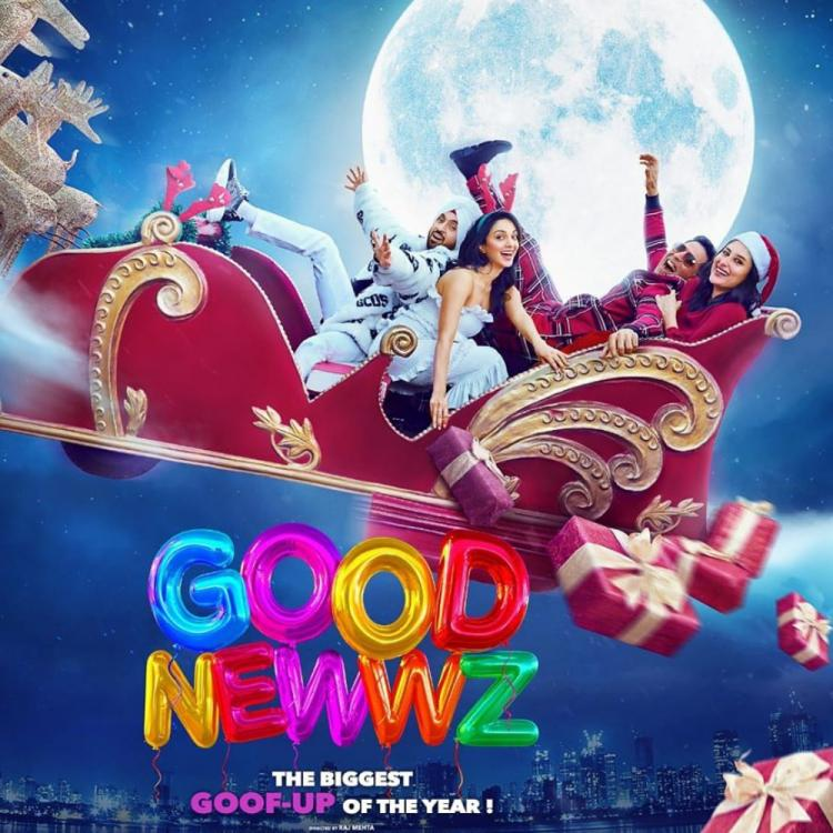 Good Newwz: Akshay Kumar wishes his fans Merry Christmas & shares a new poster of the film