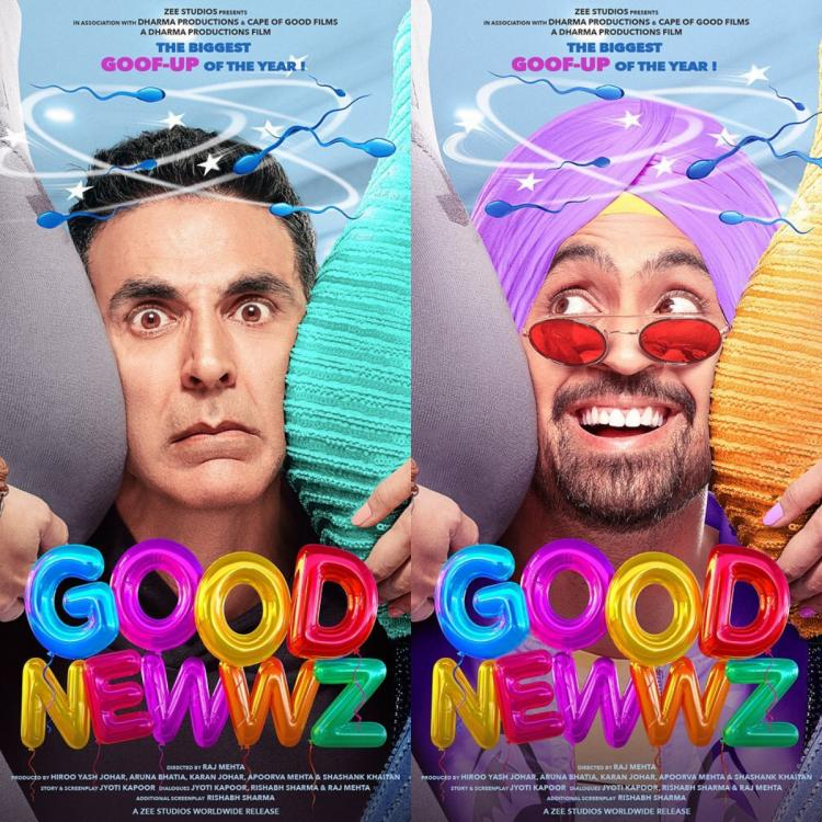 Good Newwz First Look Out: Akshay Kumar, Kareena Kapoor, Diljit are all set for biggest goof up of the year