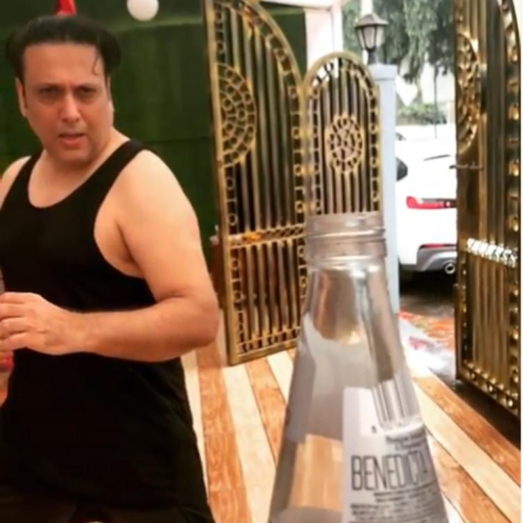 #BottleCapChallenge: Govinda nails the act like a pro in THIS video