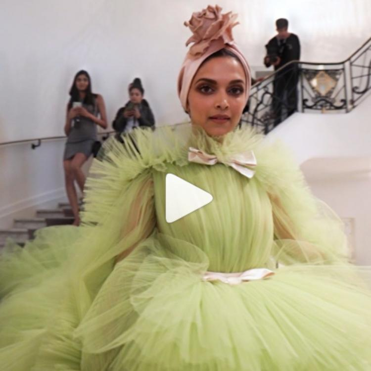 Cannes 2019: Deepika Padukone gives us a glimpse of her grand appearance at the event; WATCH Video