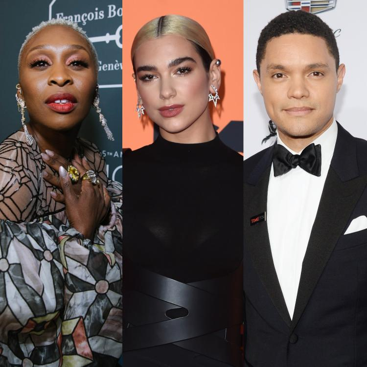 Grammy Awards,Dua Lipa,Trevor Noah,Hollywood,Cynthia Erivo