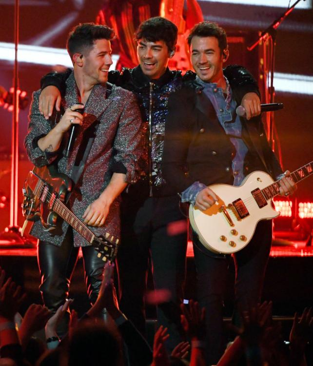 Jonas Brothers scored a Grammys 2020 nomination in the Best Pop Duo/Group Performance category for Sucker.