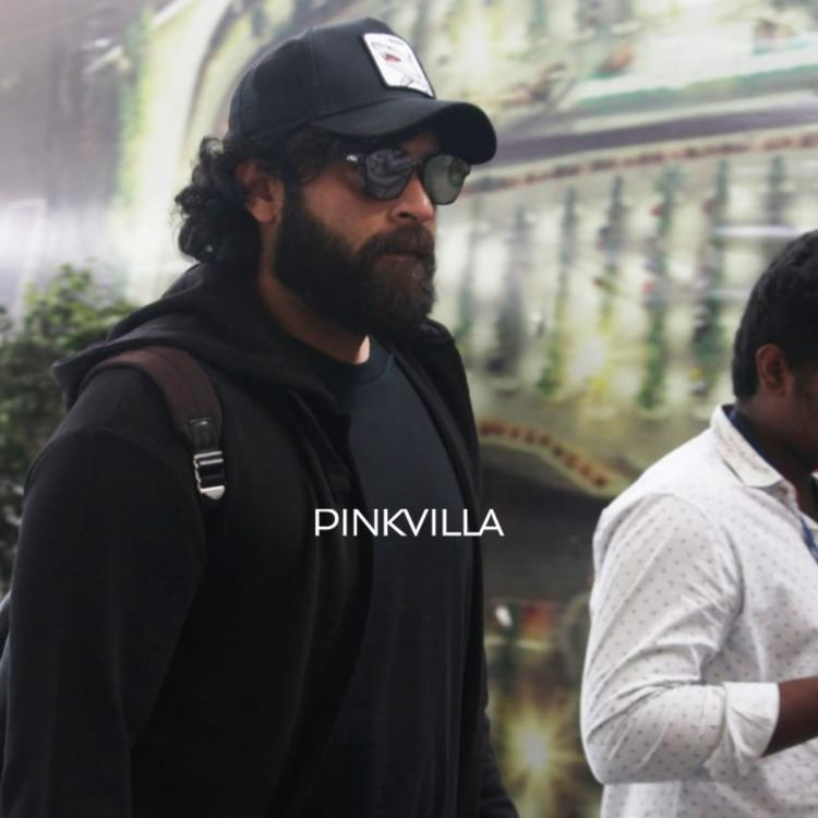 PHOTOS: Varun Tej looks dapper in casuals as he gets papped at the Hyderabad airport