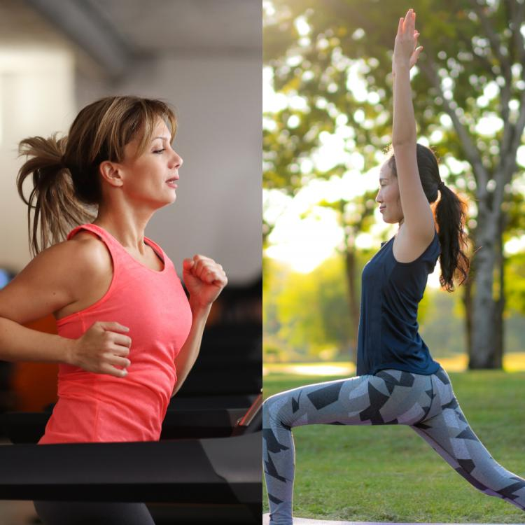 Health & Fitness,gym vs yoga