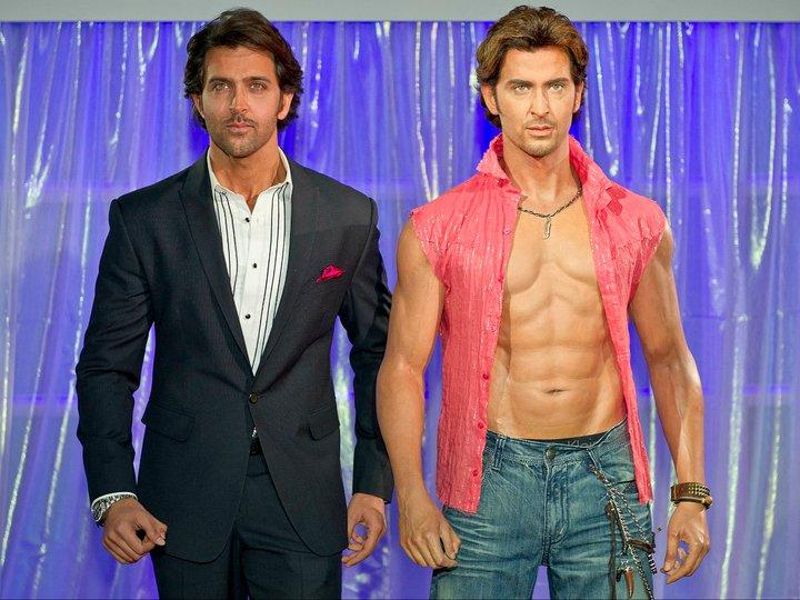 Image result for hrithik roshan wax statue at madame tussauds