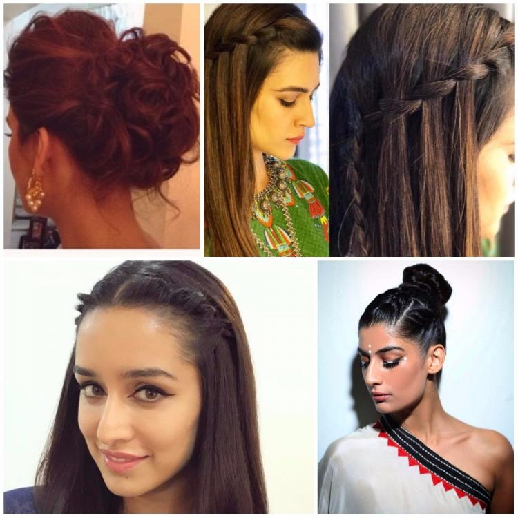 8 Chic Hairstyles To Try This Festive Season Pinkvilla