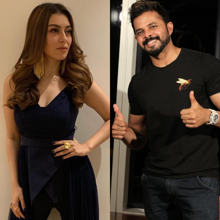 Former cricketer Sreesanth and Hansika Motwani to star in a horror comedy?