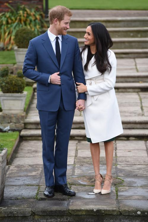 During their first interview together, Prince Harry and Meghan Markle discussed their love story.