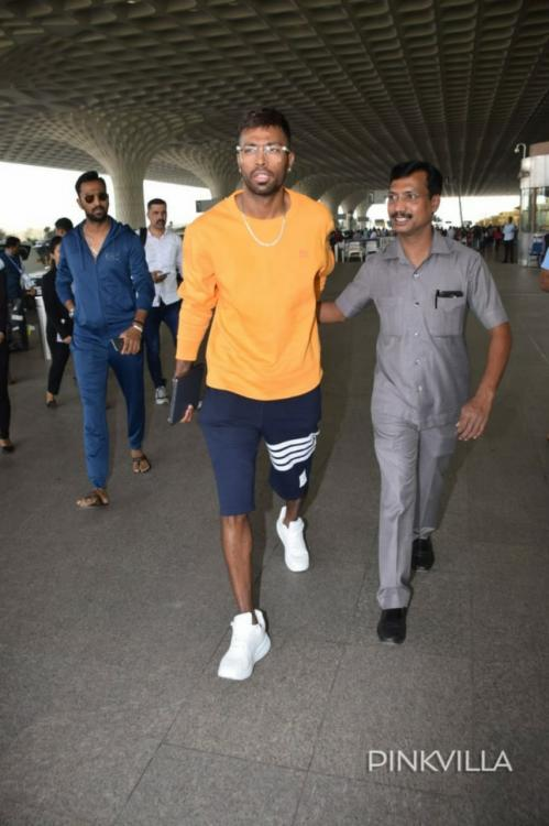 Hardik Pandya spotted with brother Krunal Pandya for the first time post Koffee With Karan fiasco