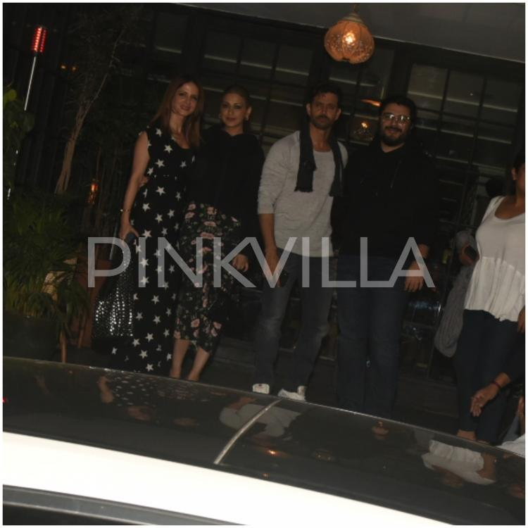 PHOTOS: Hrithik Roshan celebrates birthday with Sussanne Khan, Sonali Bendre and other friends