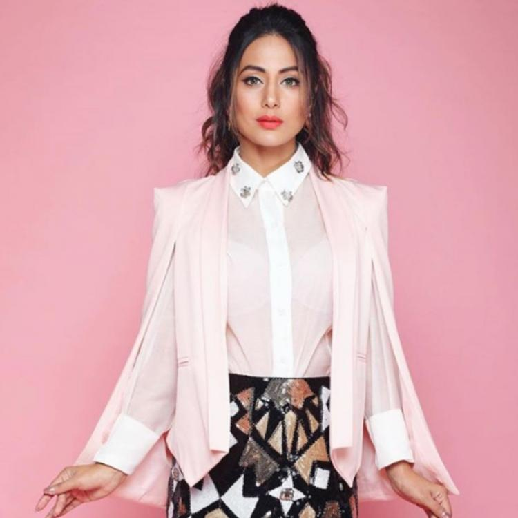 PHOTO: Hina Khan's OOTD is a perfect mix of classy & trendy; Take a look
