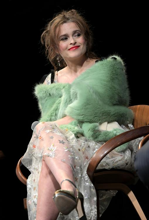 Helena Bonham Carter sympathised with Meghan Markle's plight as the Duchess of Sussex.