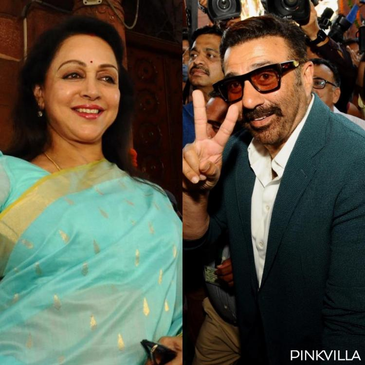 PHOTOS: Hema Malini, Sunny Deol and other Bollywood celebrities attend the NDA Parliamentary meeting
