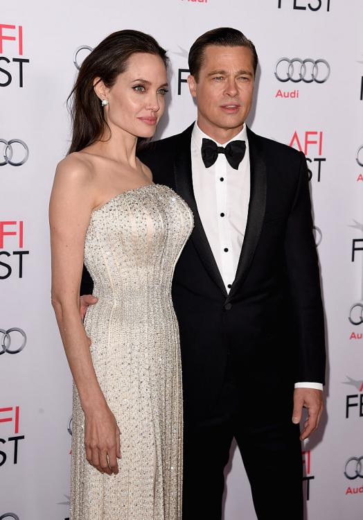 Brad Pitt and Angelina Jolie separated in September 2016.