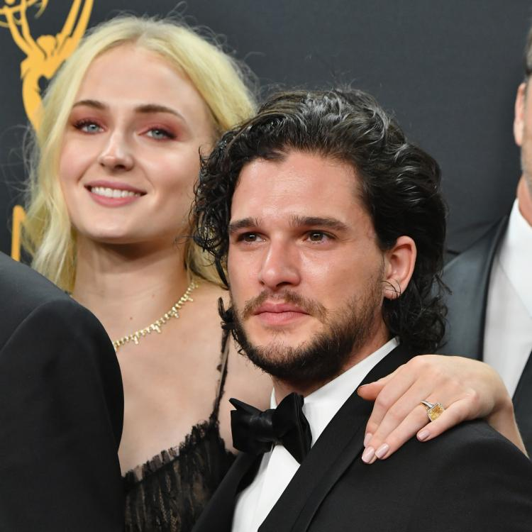 Kit Harington and Sophie Turner played siblings in Game of Thrones.
