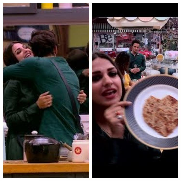 Bigg Boss 13 PREVIEW: Himanshi Khurana kisses Asim Riaz's on his cheek after he cooks paratha for her