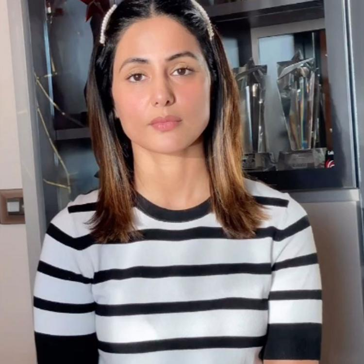 Hina Khan shares IMPORTANT message amid COVID 19; Asks fans to stop acting like it's a summer break
