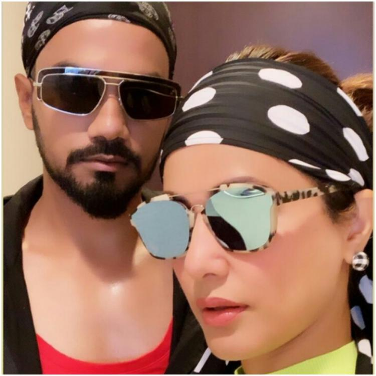 Hina Khan & beau Rocky Jaiswal flaunt their 'style with attitude' as they paint NYC in hues of love; See Pic