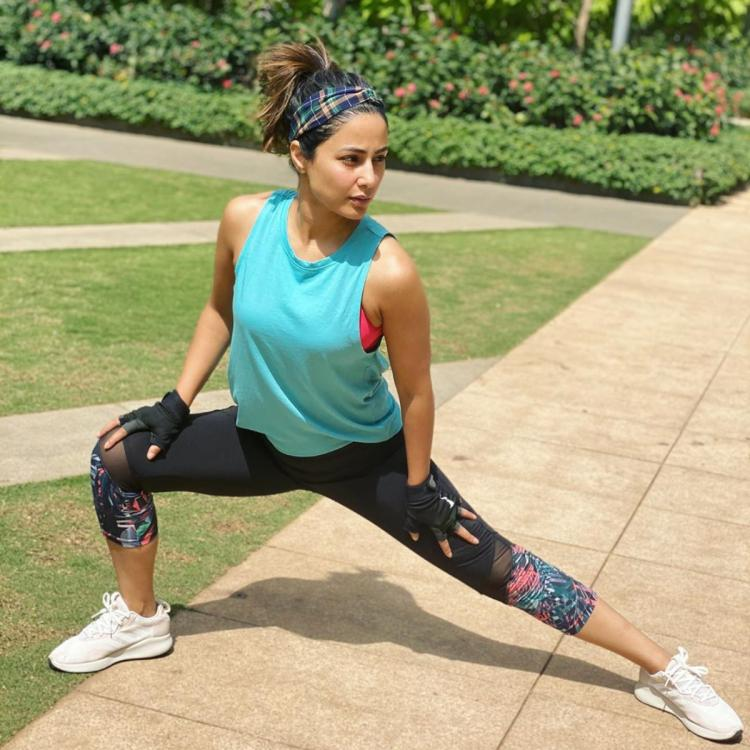 EXCLUSIVE: Hina Khan talks about staying fit while at home; admits missing out on the gym