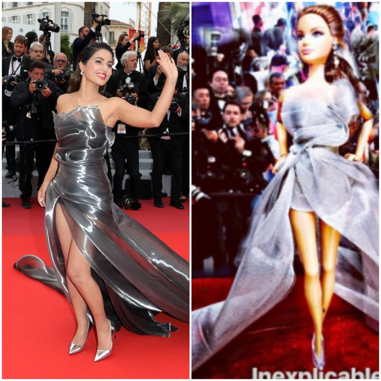 Hina Khan gets another lookalike doll inspired from her look at Cannes 2019; check it out