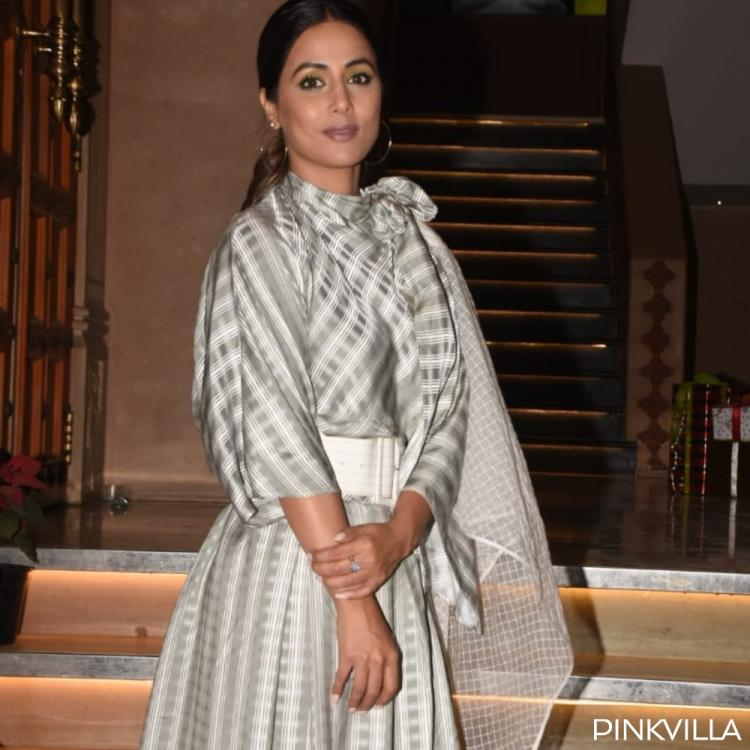 PHOTOS: Hina Khan is at her stylish best as she steps out for the promotions of a show