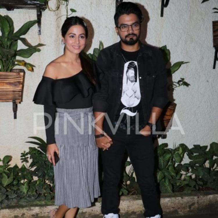 Hina Khan welcome's beau Rocky Jaiswal in style; reveals how she waited for him to watch Game Of Thrones