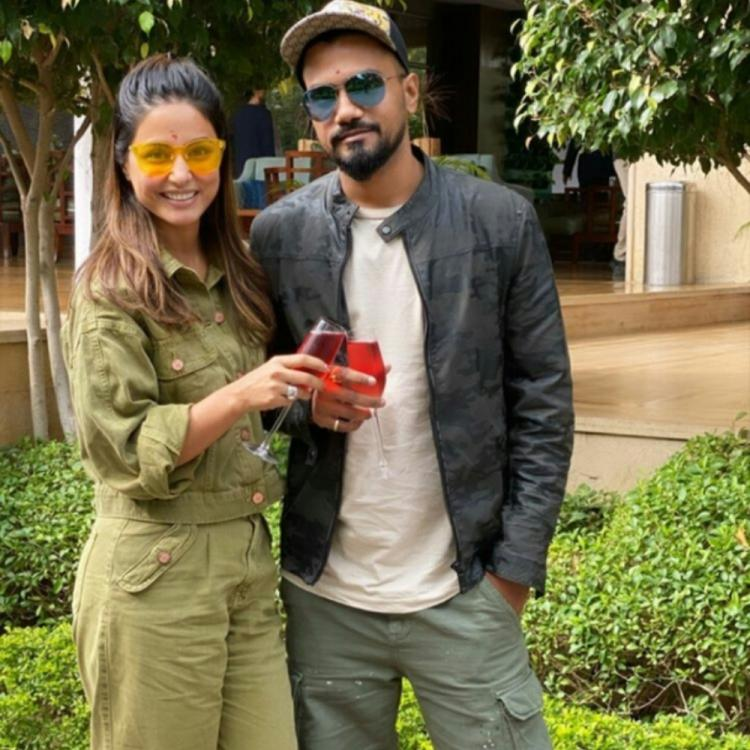Hina Khan & beau Rocky Jaiswal paint a picture of love as they kick start their Rajasthan vacay; Check it out