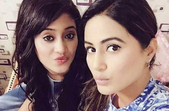 Hina Khan sends her love to Shivangi Joshi; Says, 'She is beautiful' while rebuking a post comparing the two