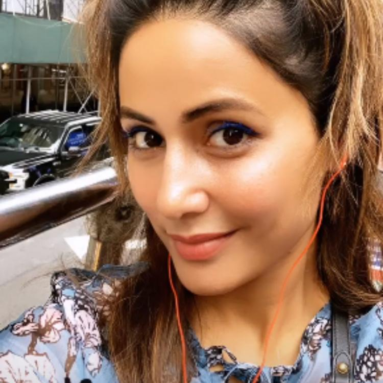 Hina Khan is having a gala time in New York and her latest PIC is a proof; Take a look
